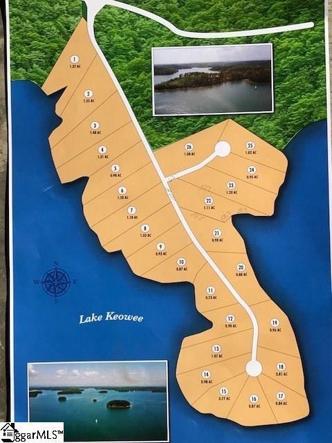 Necker Point Lane, Seneca, SC 29672 (#1359637) :: Hamilton & Co. of Keller Williams Greenville Upstate