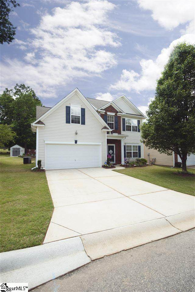7 Knoll Ridge Drive, Greer, SC 29650 (#1416174) :: The Toates Team