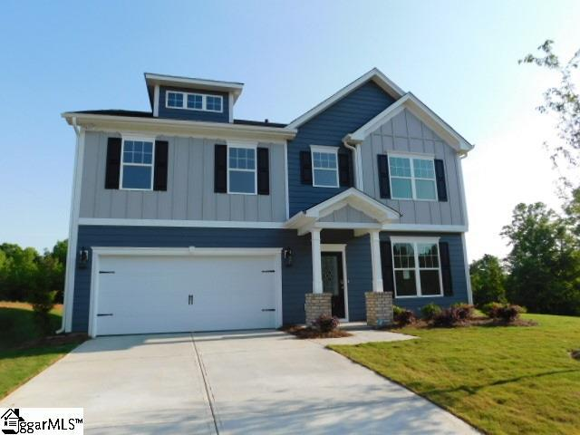 411 Stanwood Place Homesite 76, Boiling Springs, SC 29316 (#1382386) :: Hamilton & Co. of Keller Williams Greenville Upstate