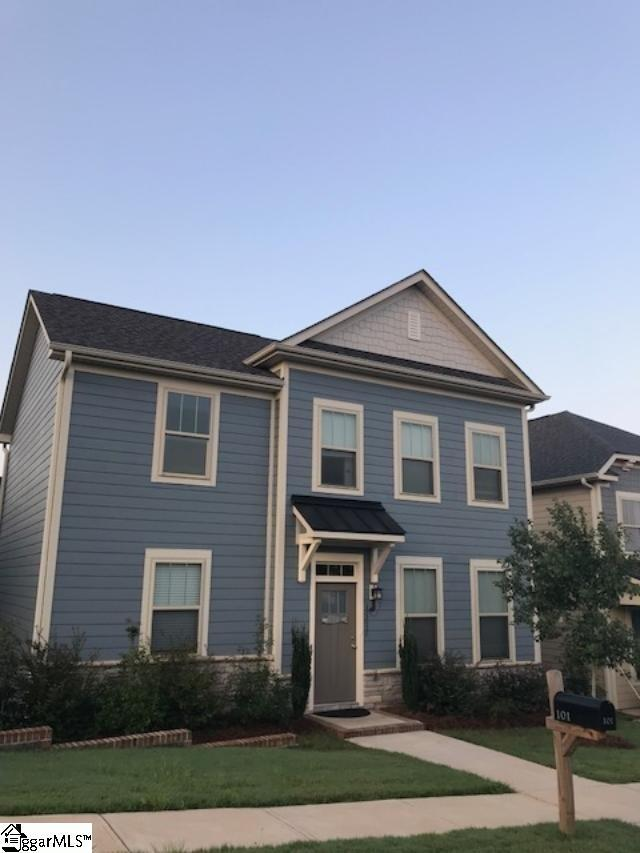 101 Meritage Street, Greer, SC 29651 (#1374290) :: Coldwell Banker Caine