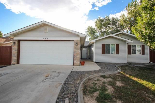 497 Ridge Lane, Grand Junction, CO 81504 (MLS #20175074) :: The Grand Junction Group