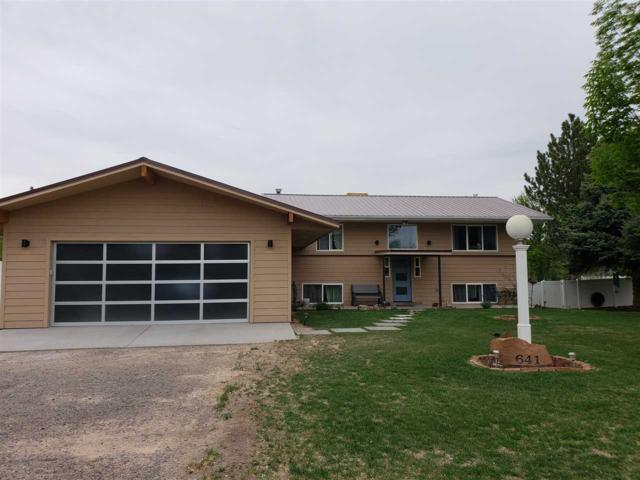 641 Panorama Drive, Grand Junction, CO 81507 (MLS #20182566) :: The Christi Reece Group