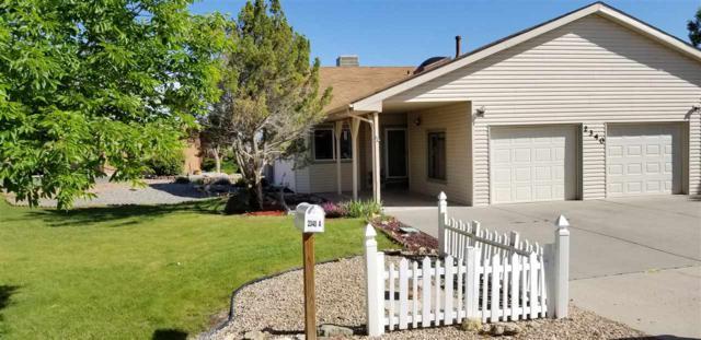 2340 Rattlesnake Court A, Grand Junction, CO 81507 (MLS #20182928) :: The Christi Reece Group