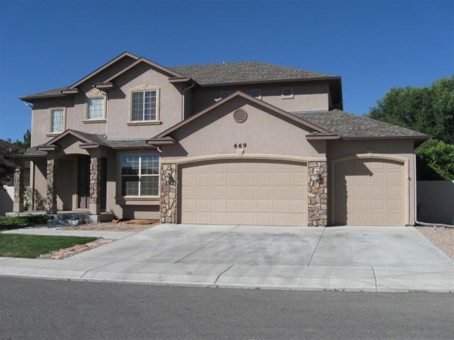 669 Cloverglen Drive, Grand Junction, CO 81504 (MLS #20182946) :: The Borman Group at eXp Realty