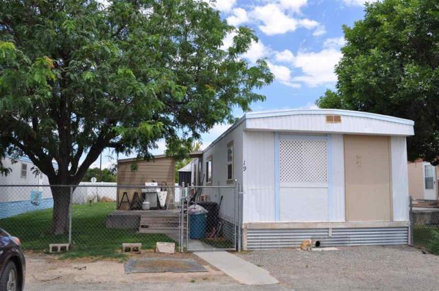 424 32 Road #19, Clifton, CO 81520 (MLS #20183785) :: CapRock Real Estate, LLC