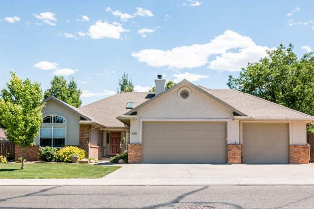 670 Long Rifle Road, Grand Junction, CO 81507 (MLS #20183934) :: CapRock Real Estate, LLC