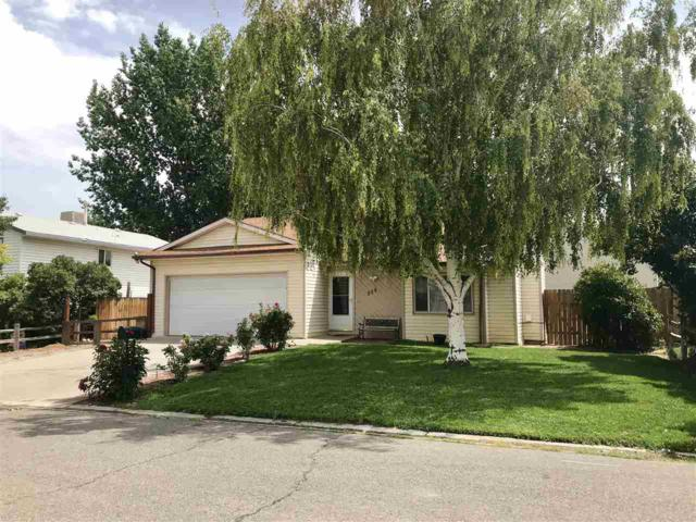 258 E Danbury Court, Grand Junction, CO 81503 (MLS #20184151) :: The Borman Group at eXp Realty