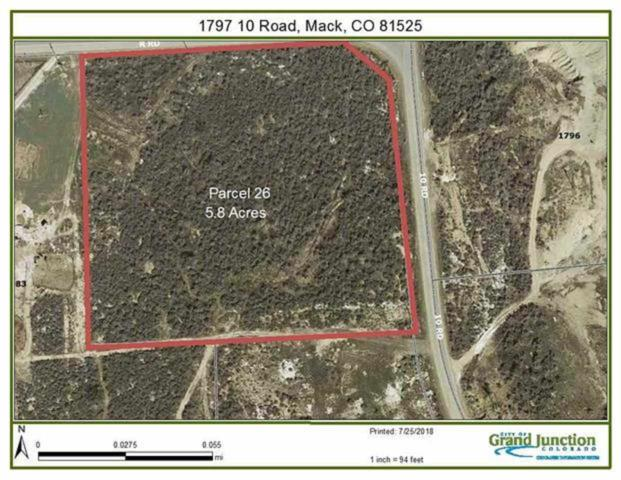 1797 10 Road, Mack, CO 81525 (MLS #20185111) :: The Grand Junction Group