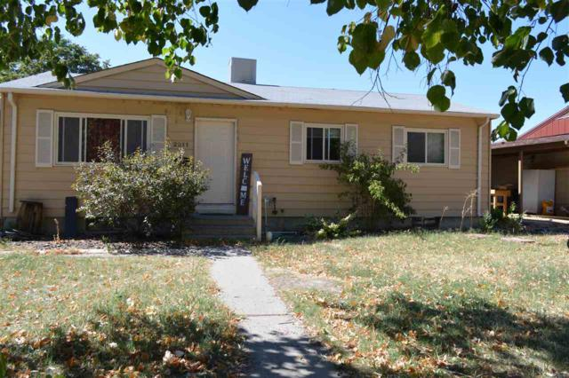 2211 N 21st Street, Grand Junction, CO 81501 (MLS #20185391) :: Keller Williams CO West / Mountain Coast Group