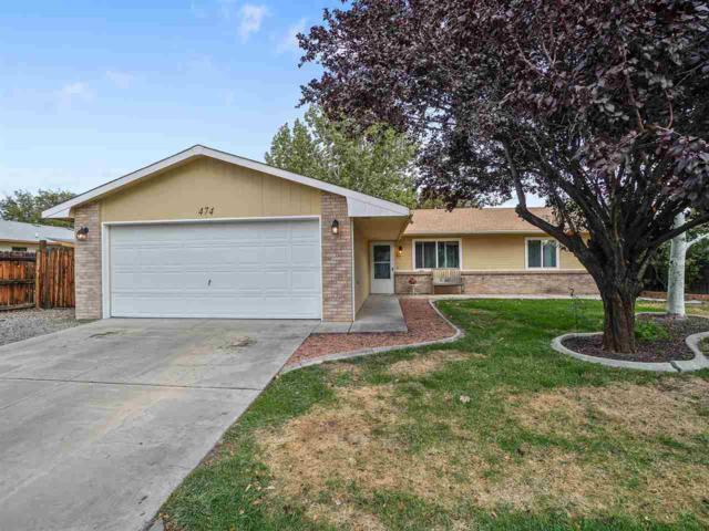 474 Mountain Vista Drive, Clifton, CO 81520 (MLS #20185821) :: The Grand Junction Group