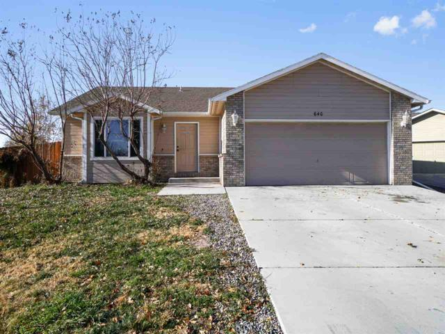 640 Vela Court, Clifton, CO 81520 (MLS #20186217) :: The Christi Reece Group