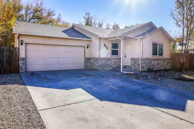 643 Vela Court, Clifton, CO 81520 (MLS #20186356) :: Keller Williams CO West / Mountain Coast Group