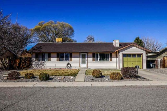 557 Peachwood Drive, Grand Junction, CO 81504 (MLS #20191304) :: The Christi Reece Group