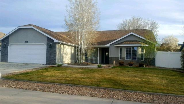 542 Galena Drive, Fruita, CO 81521 (MLS #20191989) :: The Grand Junction Group with Keller Williams Colorado West LLC