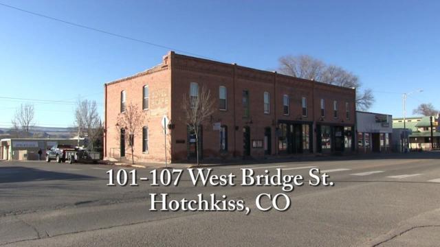 101-107 W Bridge Street, Hotchkiss, CO 81419 (MLS #20192377) :: CapRock Real Estate, LLC