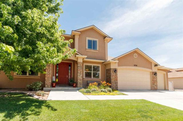 656 Cloverglen Drive, Grand Junction, CO 81504 (MLS #20194131) :: The Grand Junction Group with Keller Williams Colorado West LLC