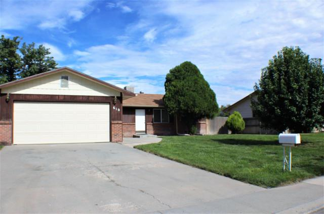 610 Oxbow Road, Grand Junction, CO 81504 (MLS #20194181) :: The Christi Reece Group