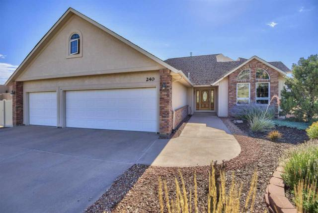 240 Red Rim Drive, Grand Junction, CO 81507 (MLS #20194477) :: The Christi Reece Group