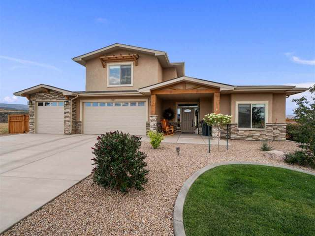 2667 Bangs Canyon Drive, Grand Junction, CO 81503 (MLS #20195272) :: The Christi Reece Group