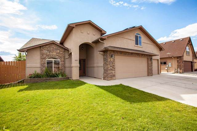 1037 Wingate Drive, Fruita, CO 81521 (MLS #20195333) :: CapRock Real Estate, LLC