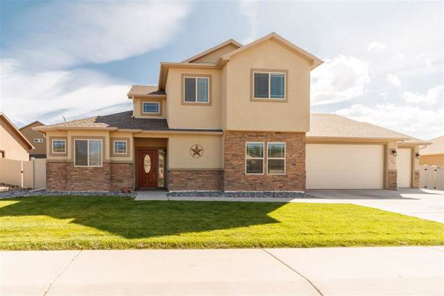 628 Bradford Drive, Grand Junction, CO 81504 (MLS #20195462) :: The Christi Reece Group