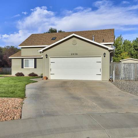 2036 W Cedar Meadows Court, Grand Junction, CO 81507 (MLS #20195499) :: The Christi Reece Group