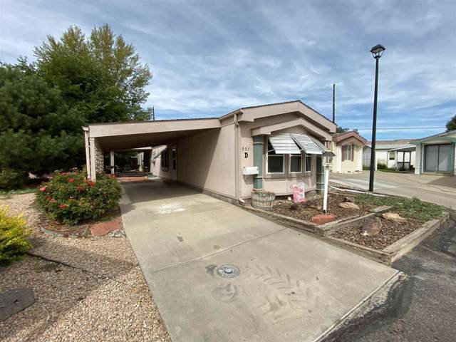 597 W Conestoga Circle D, Grand Junction, CO 81504 (MLS #20195565) :: The Christi Reece Group