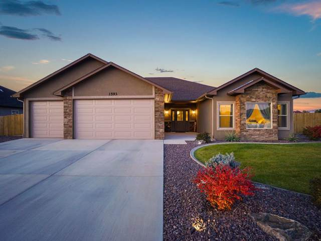 1593 Myers Lane, Fruita, CO 81521 (MLS #20195730) :: The Grand Junction Group with Keller Williams Colorado West LLC