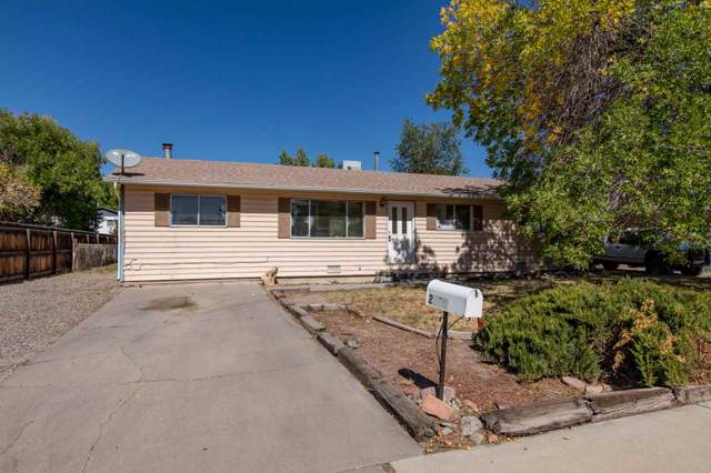 2810 Mesa Avenue, Grand Junction, CO 81501 (MLS #20195769) :: CapRock Real Estate, LLC