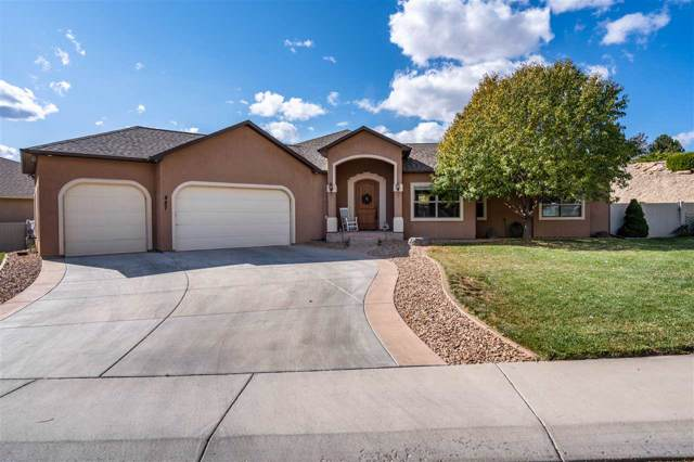 887 Grand Vista Way, Grand Junction, CO 81506 (MLS #20195817) :: The Grand Junction Group with Keller Williams Colorado West LLC