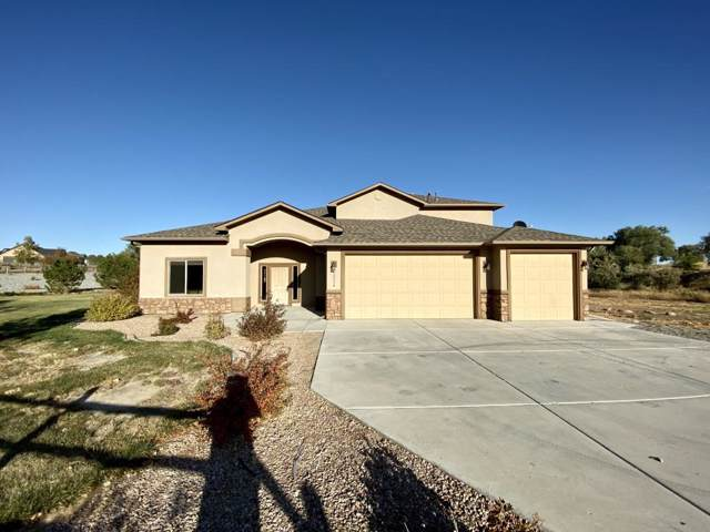 1005 1/2 Pritchard Mesa Court, Grand Junction, CO 81505 (MLS #20195870) :: The Christi Reece Group