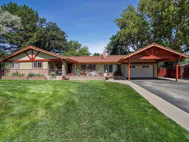 448 Bookcliff Drive, Grand Junction, CO 81501 (MLS #20196040) :: The Christi Reece Group