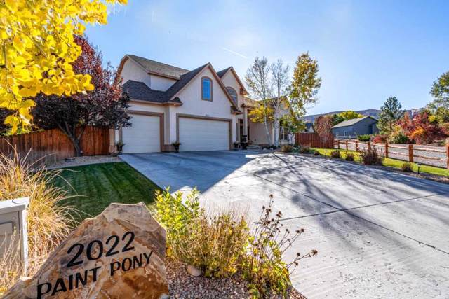 2022 Paint Pony Court, Grand Junction, CO 81507 (MLS #20196045) :: The Christi Reece Group