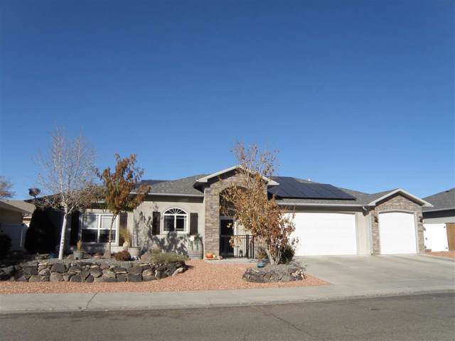 2506 Buchanan Drive, Grand Junction, CO 81505 (MLS #20196279) :: CapRock Real Estate, LLC