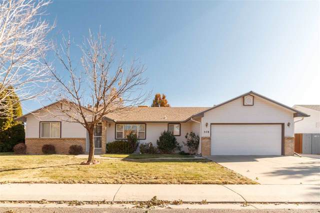 578 Eastwood Street, Grand Junction, CO 81504 (MLS #20196292) :: The Grand Junction Group with Keller Williams Colorado West LLC