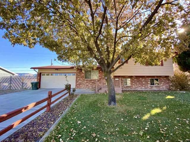 714 Bunker Drive, Grand Junction, CO 81506 (MLS #20196305) :: The Christi Reece Group
