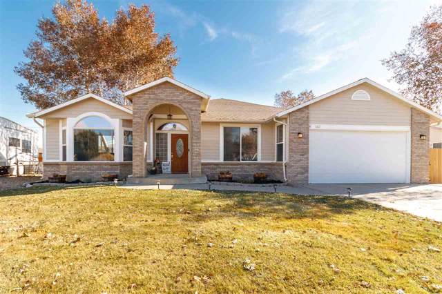 682 Shavano Court, Grand Junction, CO 81504 (MLS #20196328) :: The Grand Junction Group with Keller Williams Colorado West LLC
