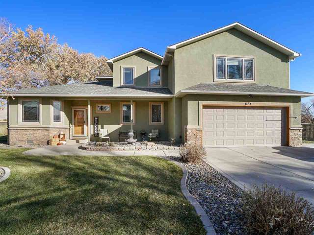 674 30 1/2 Road, Grand Junction, CO 81504 (MLS #20196380) :: The Grand Junction Group with Keller Williams Colorado West LLC