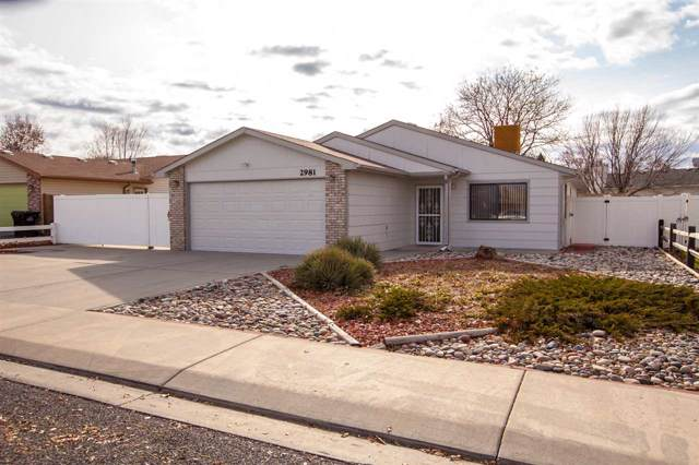 2981 Bret Drive, Grand Junction, CO 81504 (MLS #20196475) :: The Grand Junction Group with Keller Williams Colorado West LLC