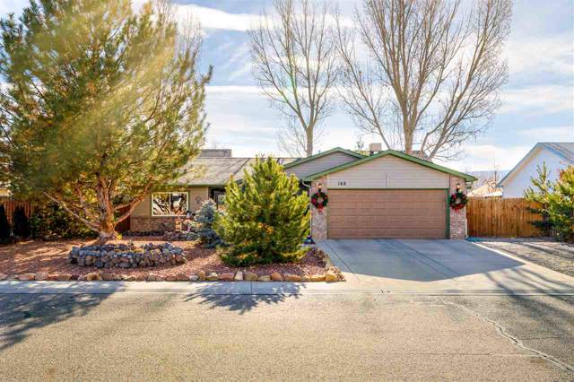 168 Pinyon Drive, Fruita, CO 81521 (MLS #20196539) :: The Grand Junction Group with Keller Williams Colorado West LLC
