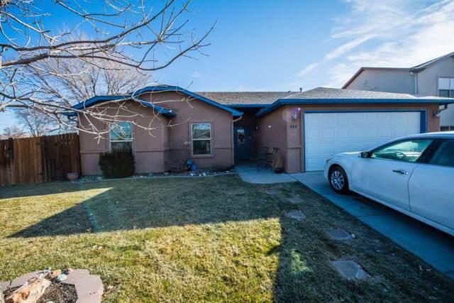 448 San Juan Street, Grand Junction, CO 81504 (MLS #20196551) :: The Danny Kuta Team