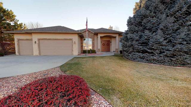3615 Ridge Drive, Grand Junction, CO 81506 (MLS #20196569) :: The Christi Reece Group