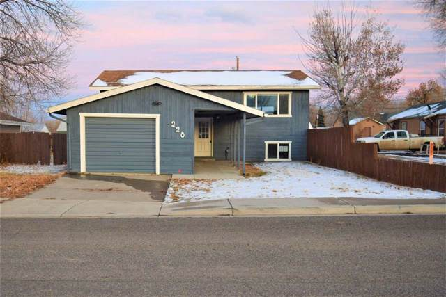 220 River Road, Rangely, CO 81648 (MLS #20196571) :: The Christi Reece Group