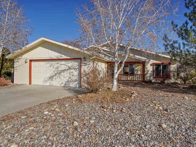 2982 Brookwood Drive, Grand Junction, CO 81504 (MLS #20196573) :: The Grand Junction Group with Keller Williams Colorado West LLC
