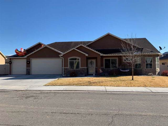 636 Allegheny Drive, Grand Junction, CO 81504 (MLS #20196657) :: The Danny Kuta Team