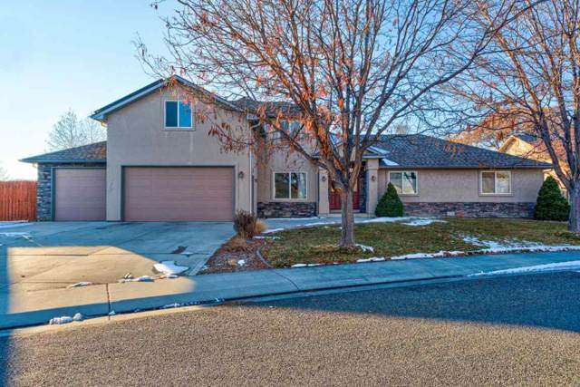 653 Grand View Drive, Grand Junction, CO 81506 (MLS #20200095) :: Western Slope Real Estate