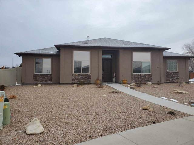 224 Meadow Point Drive, Grand Junction, CO 81503 (MLS #20200163) :: The Christi Reece Group