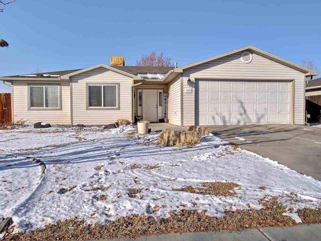 405 Wood Duck Drive, Grand Junction, CO 81504 (MLS #20200183) :: The Christi Reece Group
