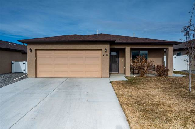 2466 Hannah Lane, Grand Junction, CO 81505 (MLS #20200264) :: CapRock Real Estate, LLC