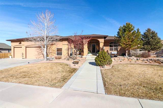 364 Caprock Drive, Grand Junction, CO 81507 (MLS #20200281) :: The Christi Reece Group